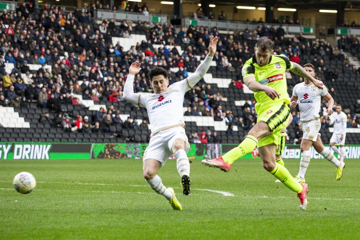 Milton Keynes Dons v Bolton Wanderers - Sky Bet League One
