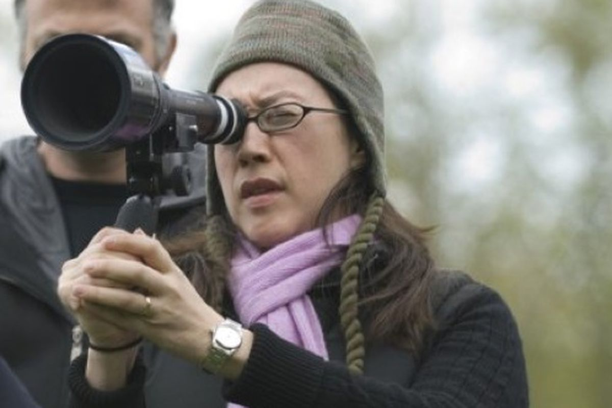 Image result for karyn kusama on set of jennifers body