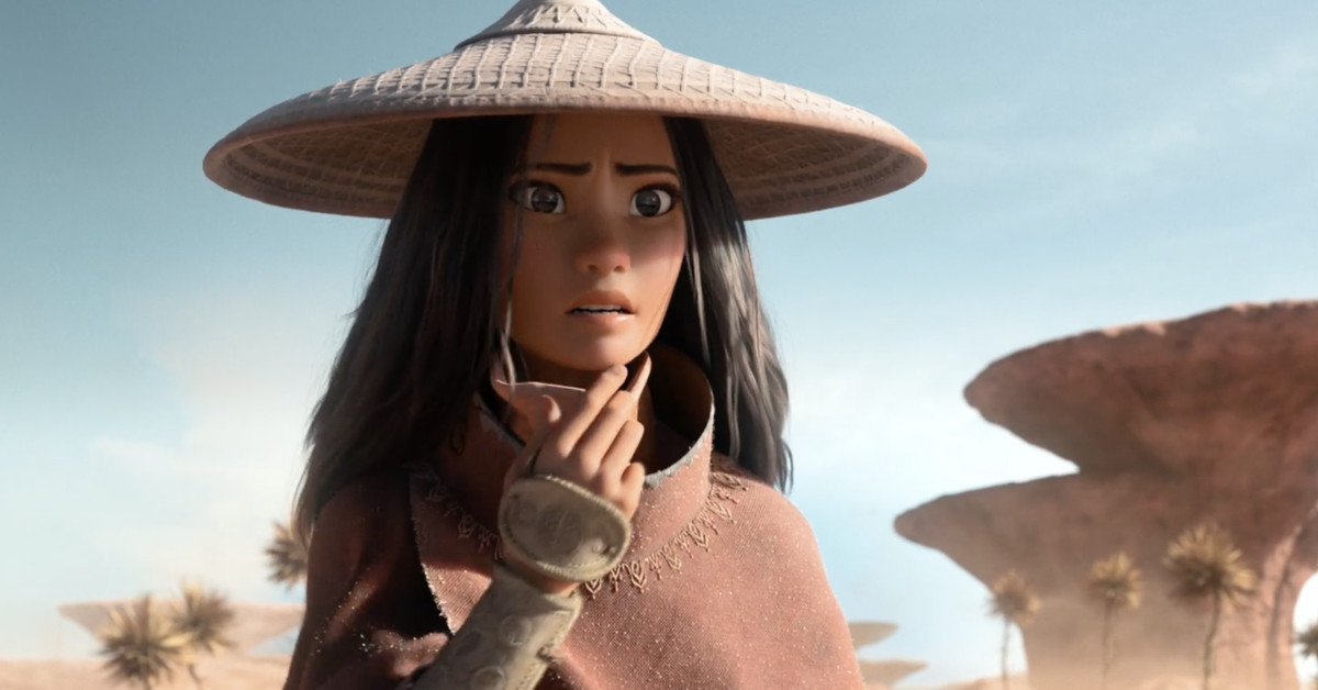 Raya and the Last Dragon's first trailer is a vibrant fantasy adventure