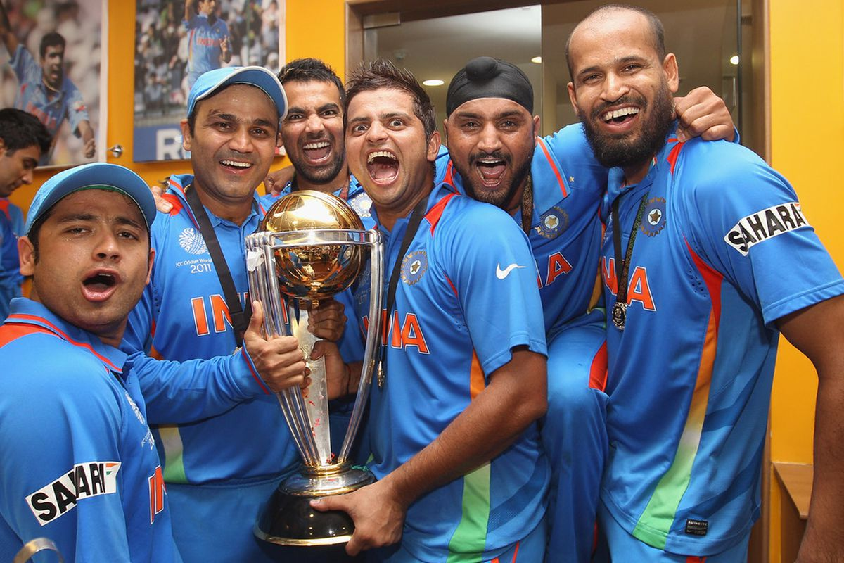 Cricket World Cup 2011 Final India Vs Sri Lanka Sbnation Com