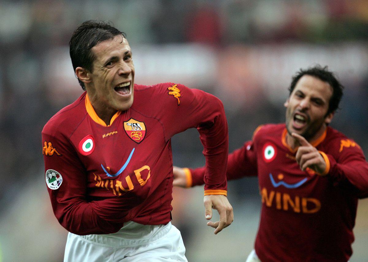 AS Roma's Brazilian midfielder Rodrigo F