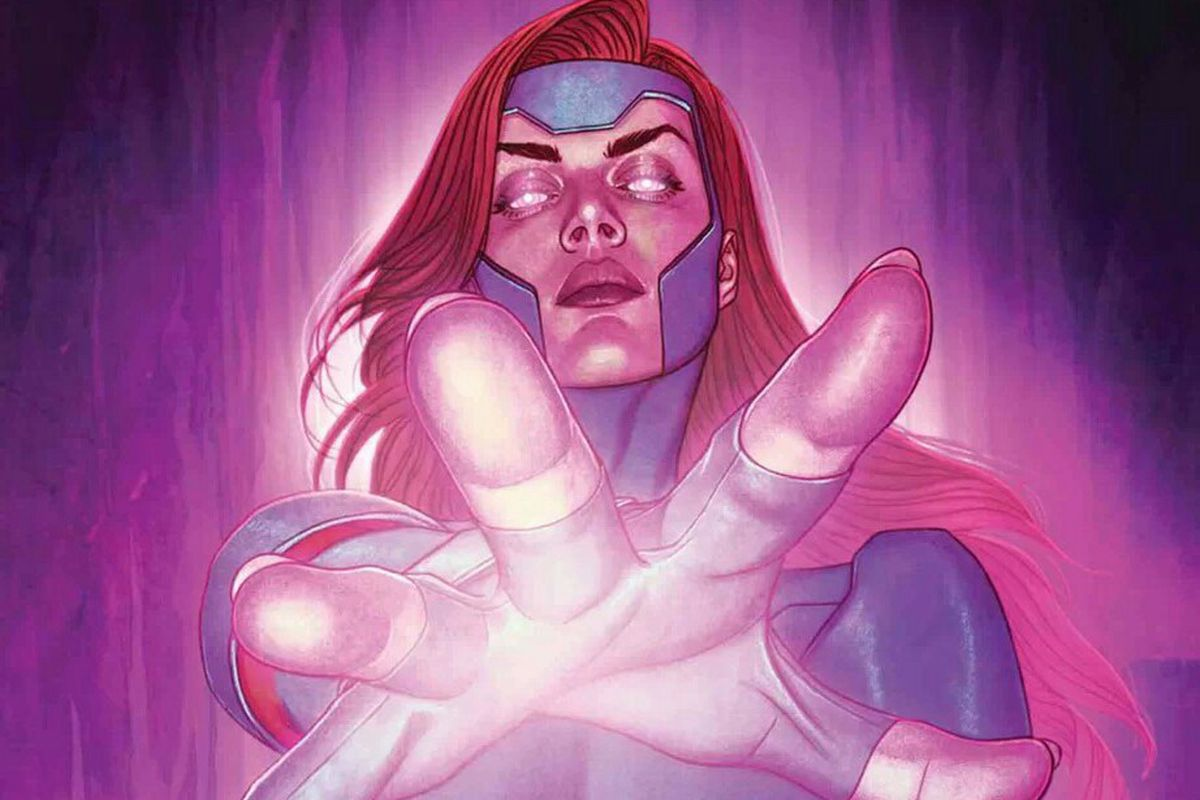 The cover of X-Men Red #10.