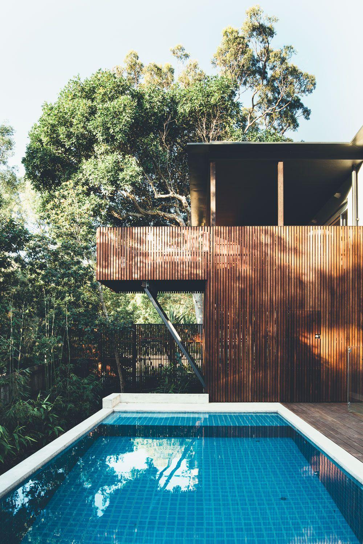 wooden beach house