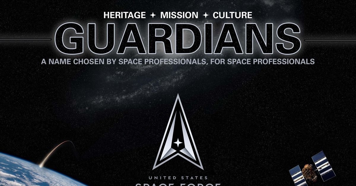 Members of the US Space Force will now be called 'Guardians'