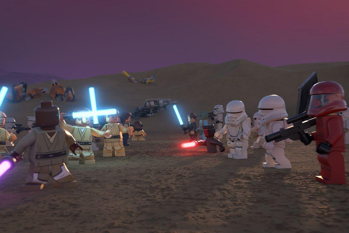 The Lego Star Wars Holiday Special Rey Finn Poe To Return On Disney Deseret News
