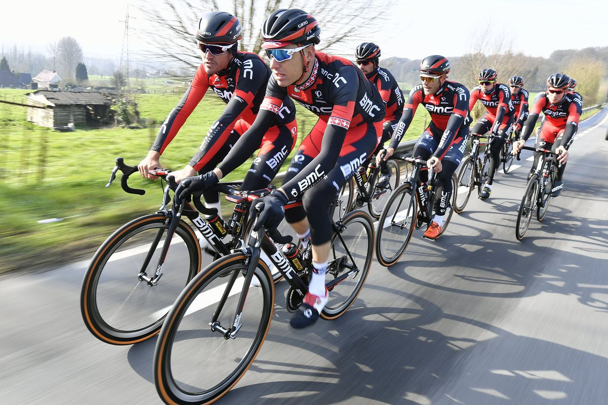 BMC out training for Flanders