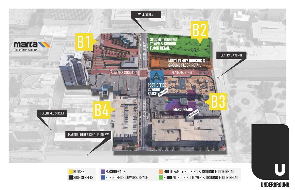 Underground Atlanta Redevelopment Could Welcome National Grocer