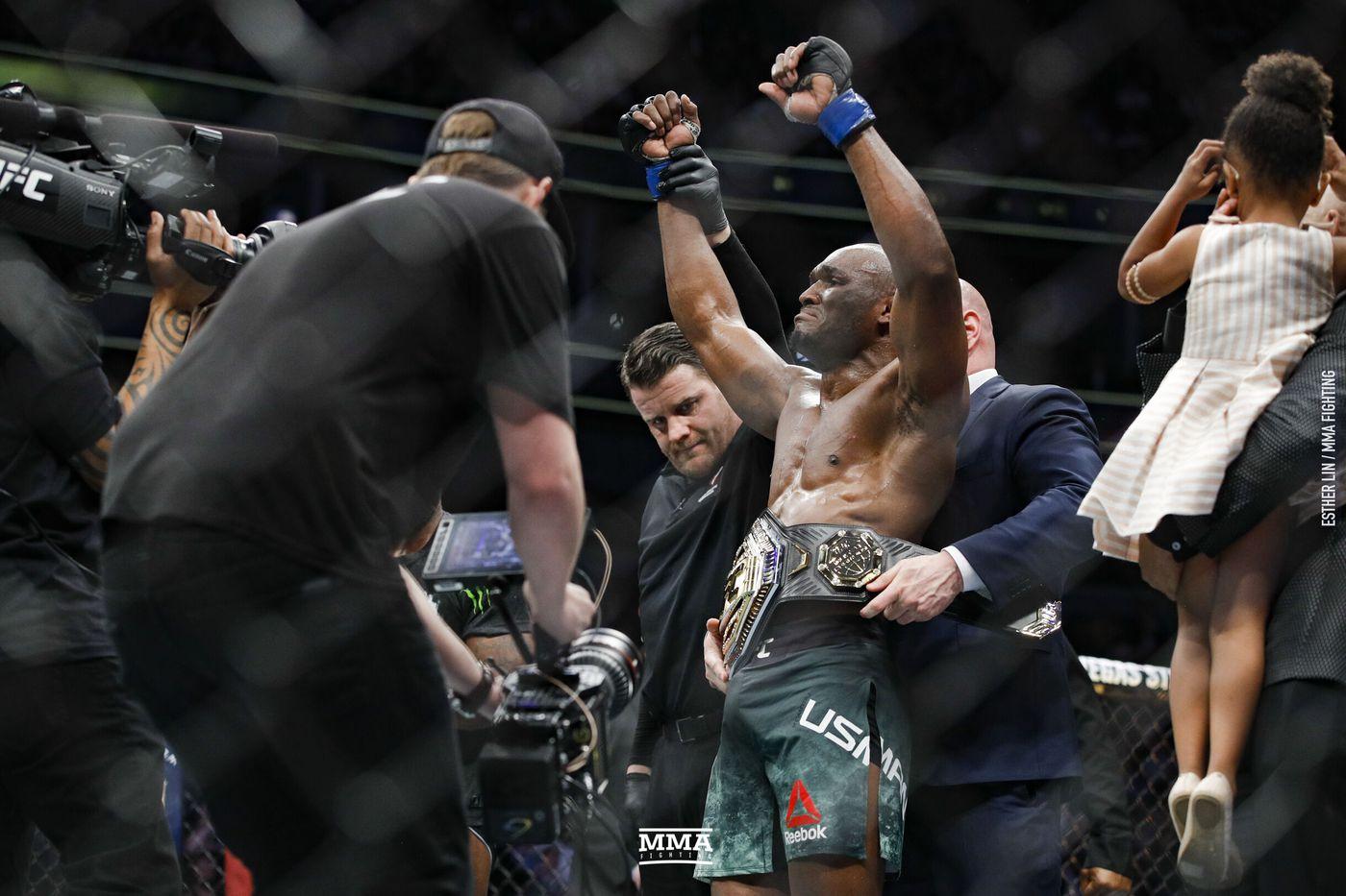 Ufc 235 Results Kamaru Usman Dominates Tyron Woodley Wins Welterweight Title Mma Fighting