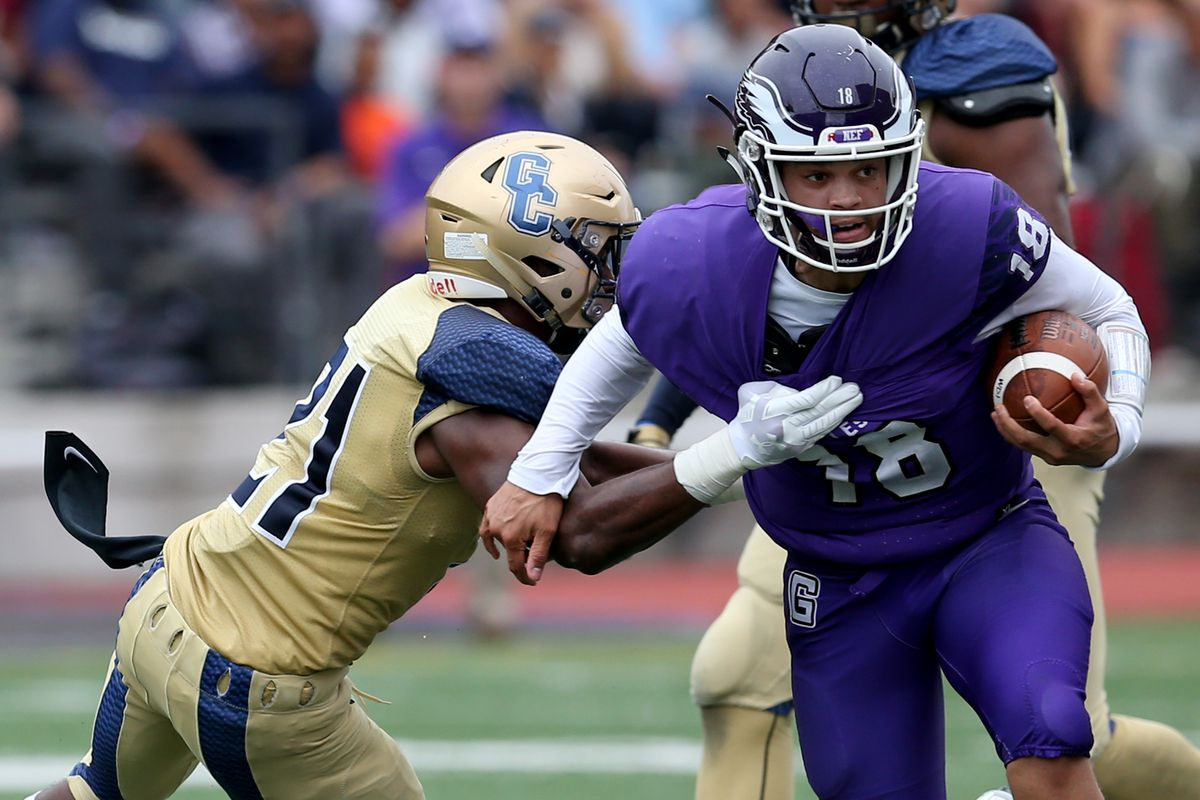 High School Football Good Counsel At Gonzaga