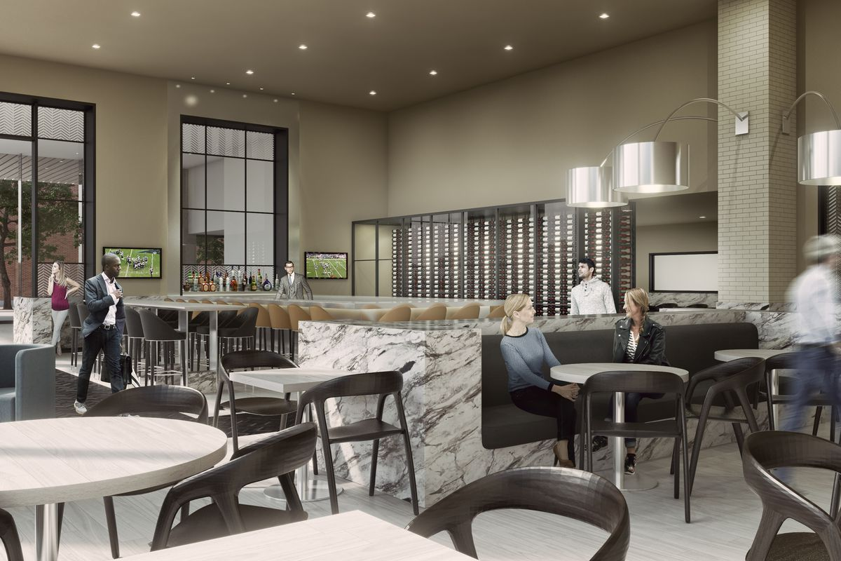 A Rendering Of The New Narrative Restaurant At Jacquard Hotel Opening This Summer In Cherry Creek Stonebridge Companies Official