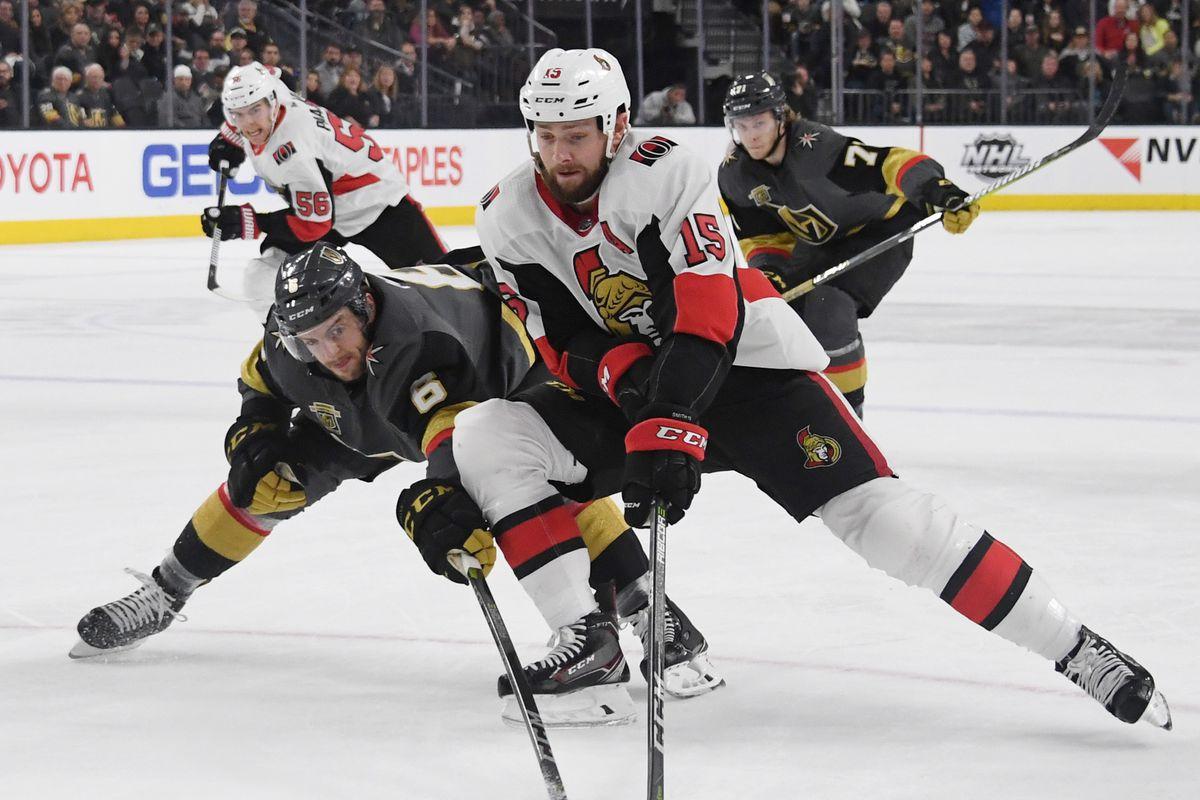Ottawa Senators v Vegas Golden Knights