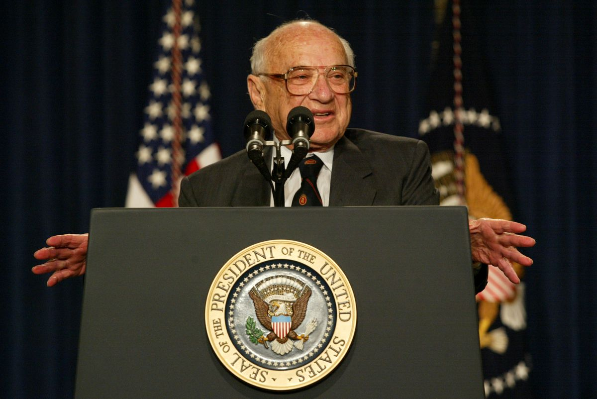 Bush Pays Tribute to Milton Friedman