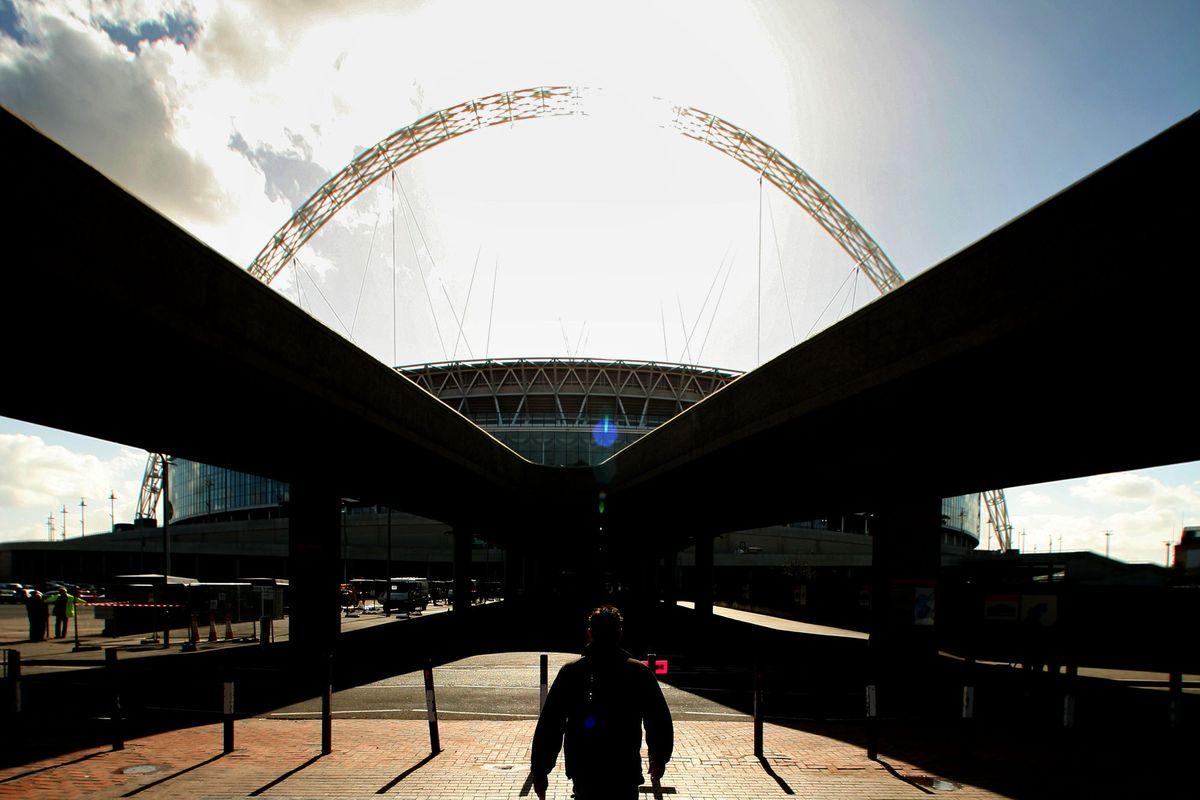 Wembley Stadium Prepares To Open