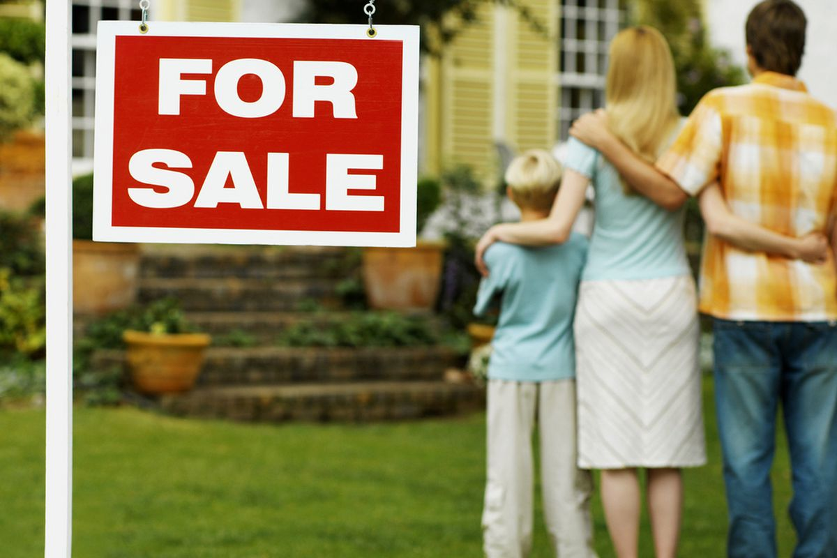 This nice family wants to buy a house. Now to fork over hundreds of thousands of dollars, all at once.