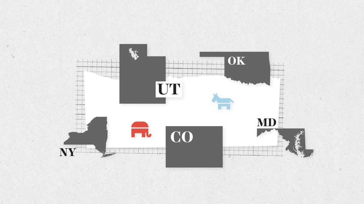 Primary Elections In New York Utah Colorado Oklahoma And Maryland