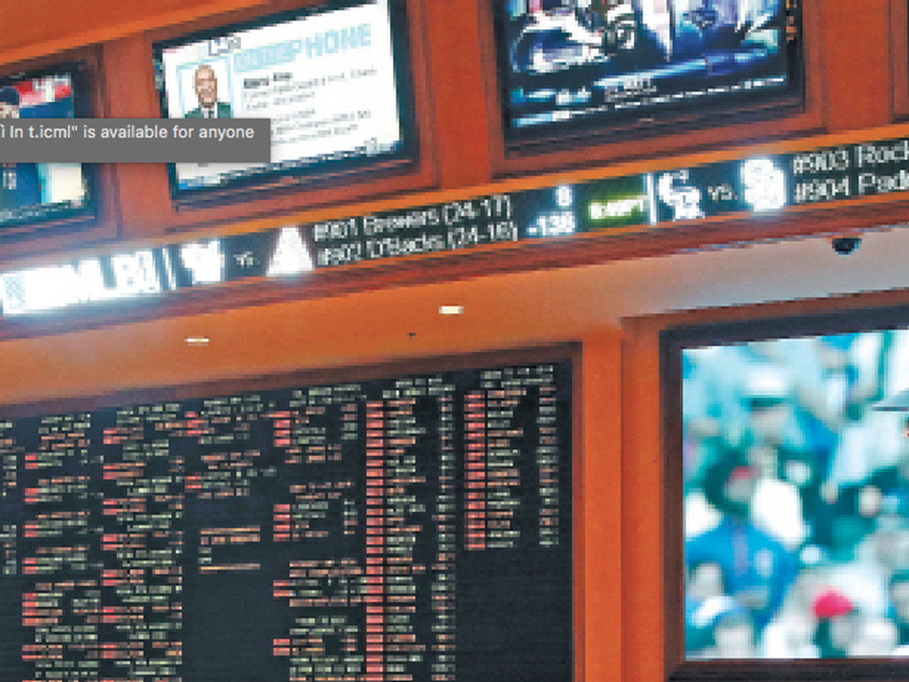 South Point sportsbook