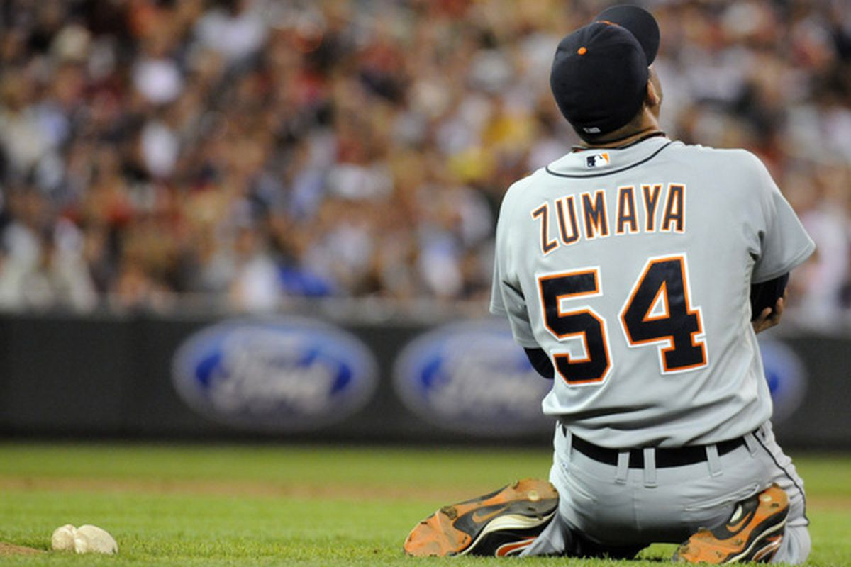 Joel Zumaya suffered his most horrendous injury pitching in Minnesota. Now a pitcher for the Twins he was injured after just his 13th pitch of spring training.