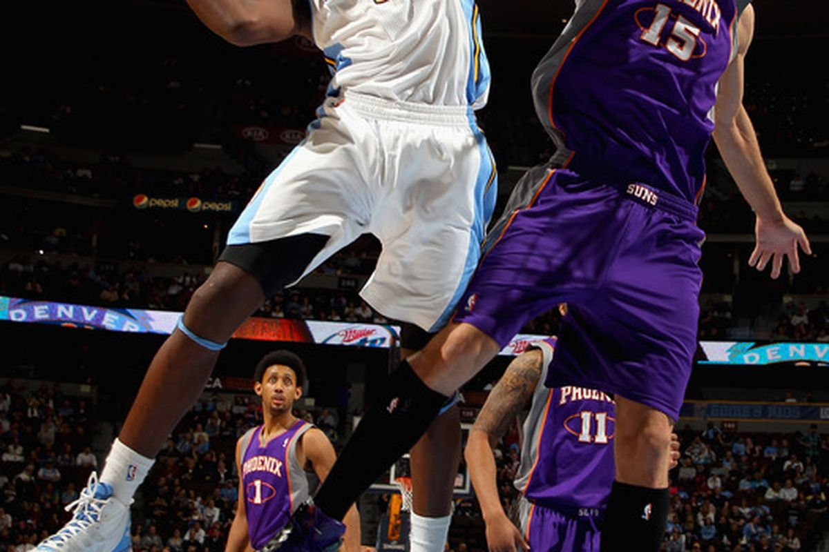 Kenneth Faried went 5-6 from the foul line last night against the Suns.