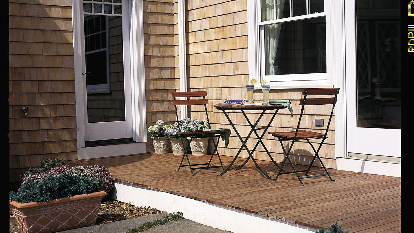 How To Build A Simple Deck Instructions Video This Old House