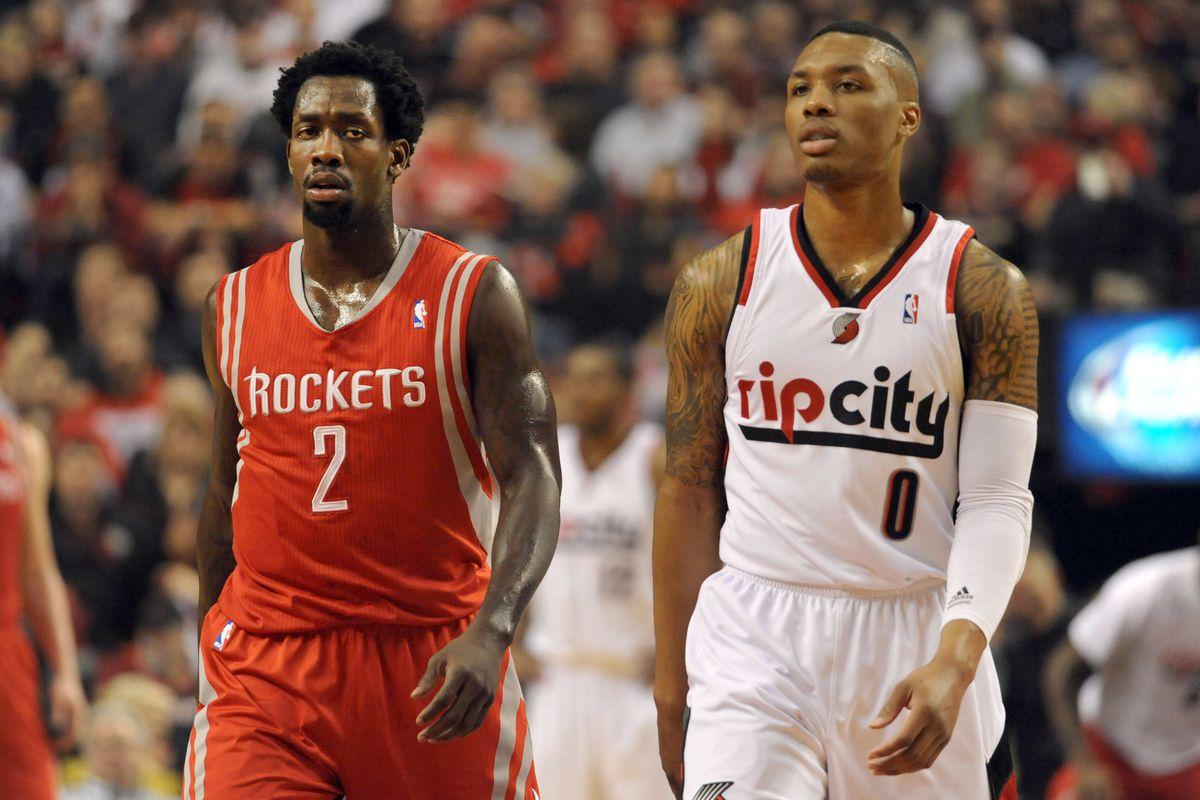 Houston Rockets v Portland Trailblazers Ð Game Three