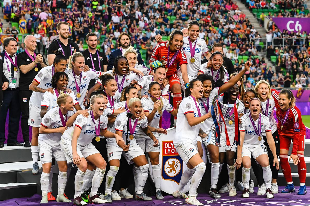 It's Olympique Lyonnais' world and the rest of Division 1 Féminine ...