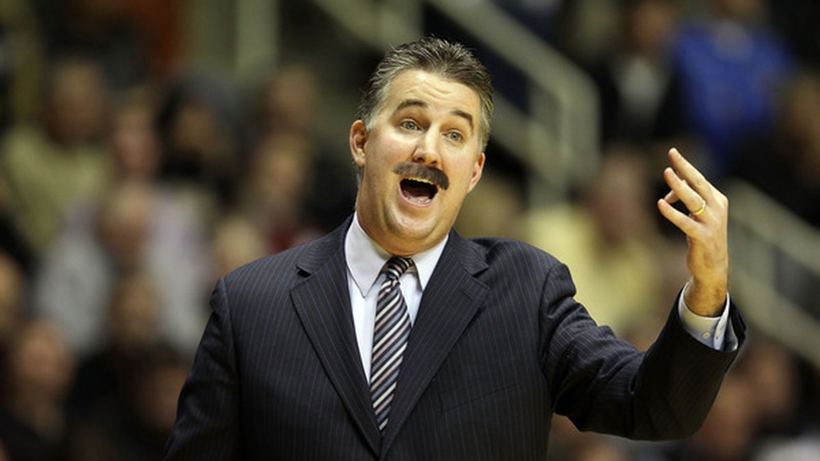 what would matt painter look like with a mustache black