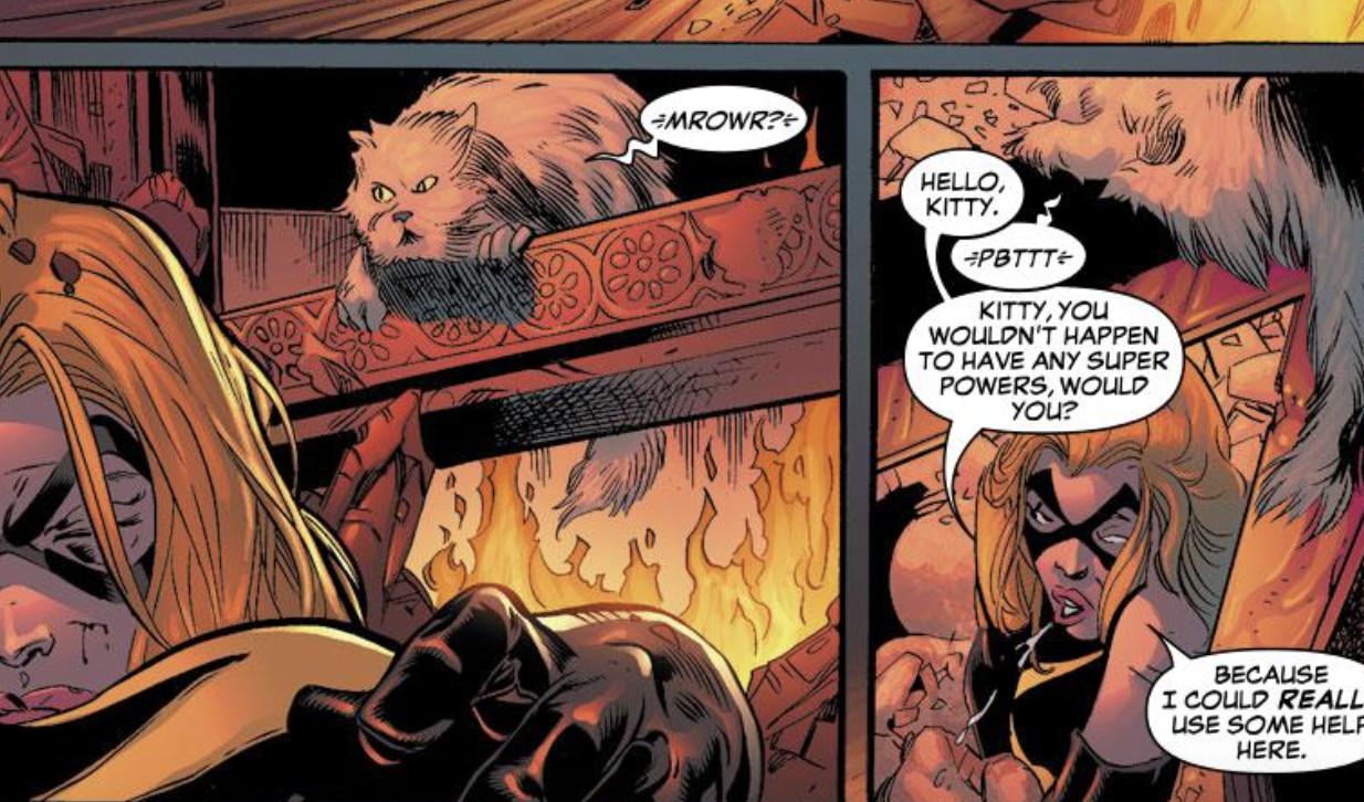 captain marvel: carol danvers's cat goose and flerkens, explained - vox