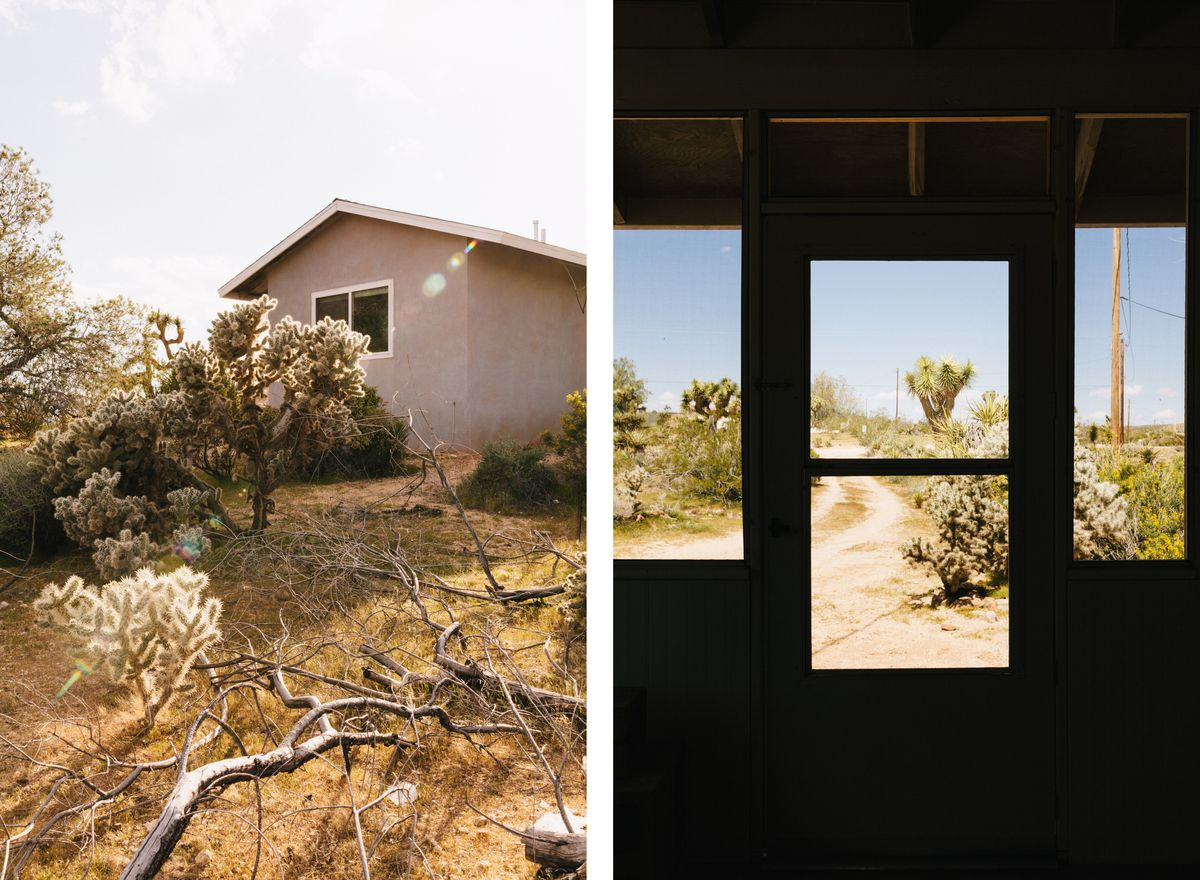 Joshua Tree Midcentury Home Becomes Writer S Refuge Curbed