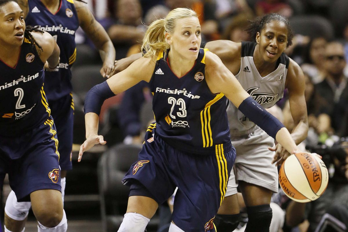 Indiana Fever guard Katie Douglas will make her return to action tonight against the New York Liberty.