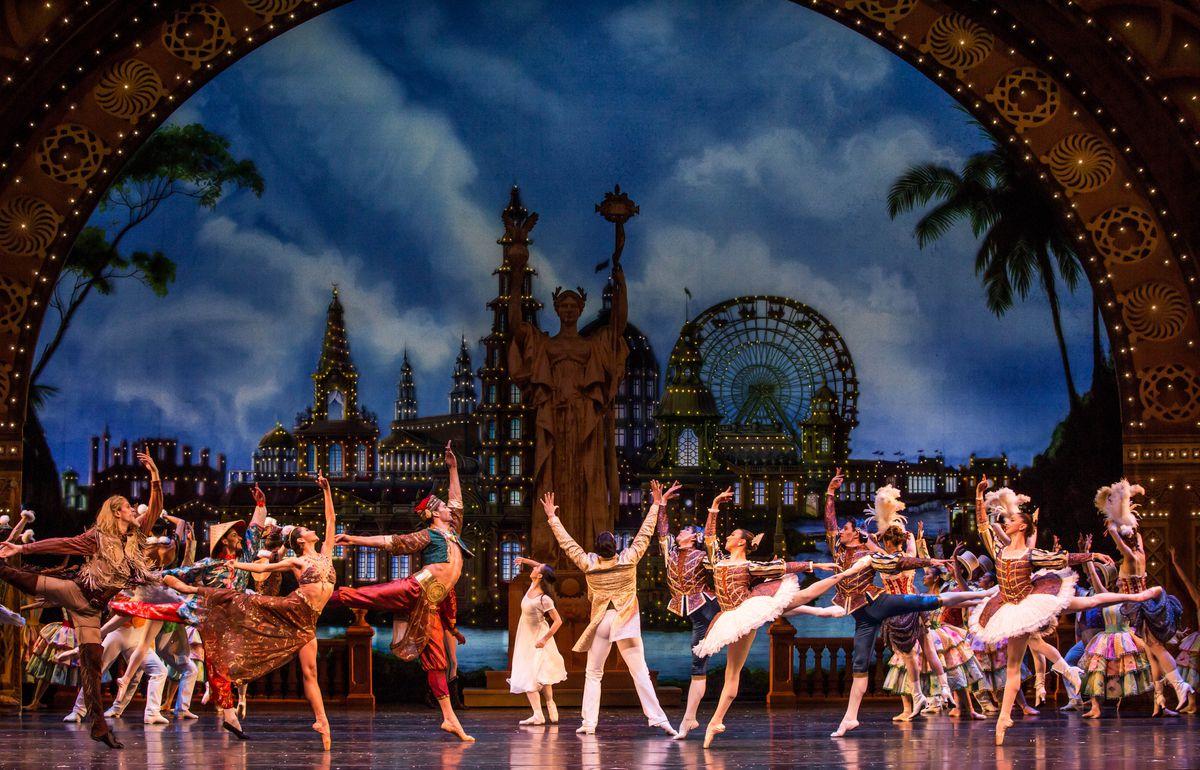 """The Nutcracker,"" presented by the Joffrey Ballet. | Cheryl Mann"