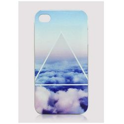 """Cloud Triangle Print iPhone 4 Case, $19.90 at <a href=""""http://www.ustrendy.com/store/product/61623/cloud-triangle-print-iphone-case"""">UsTrendy</a>"""