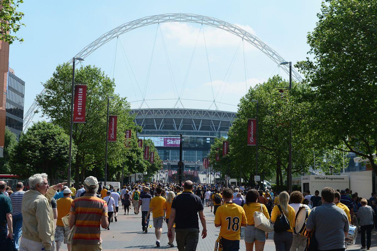 Park Road will be representing Bolton Wanderers at Wembley Stadium tomorrow.