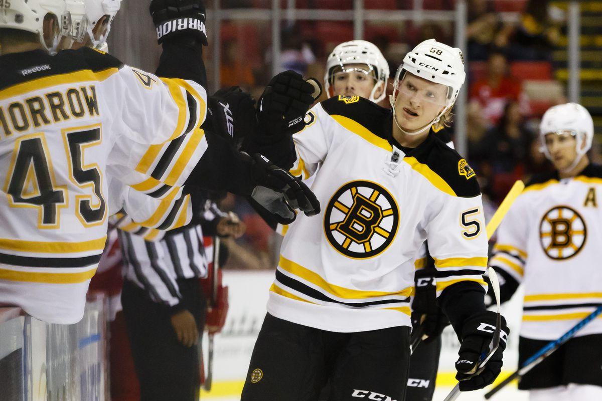 NHL: Preseason-Boston Bruins at Detroit Red Wings