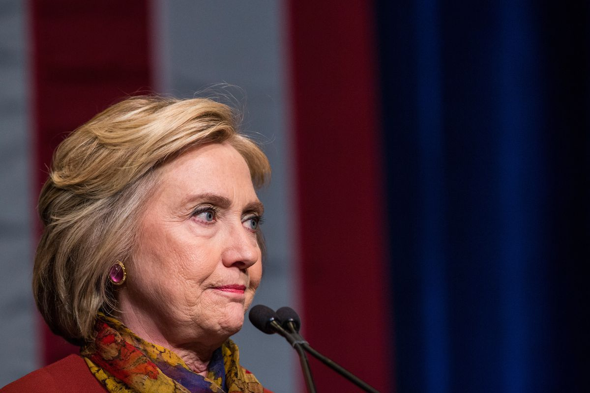 Hillary Clinton Meets With Civil Rights Leaders In New York City