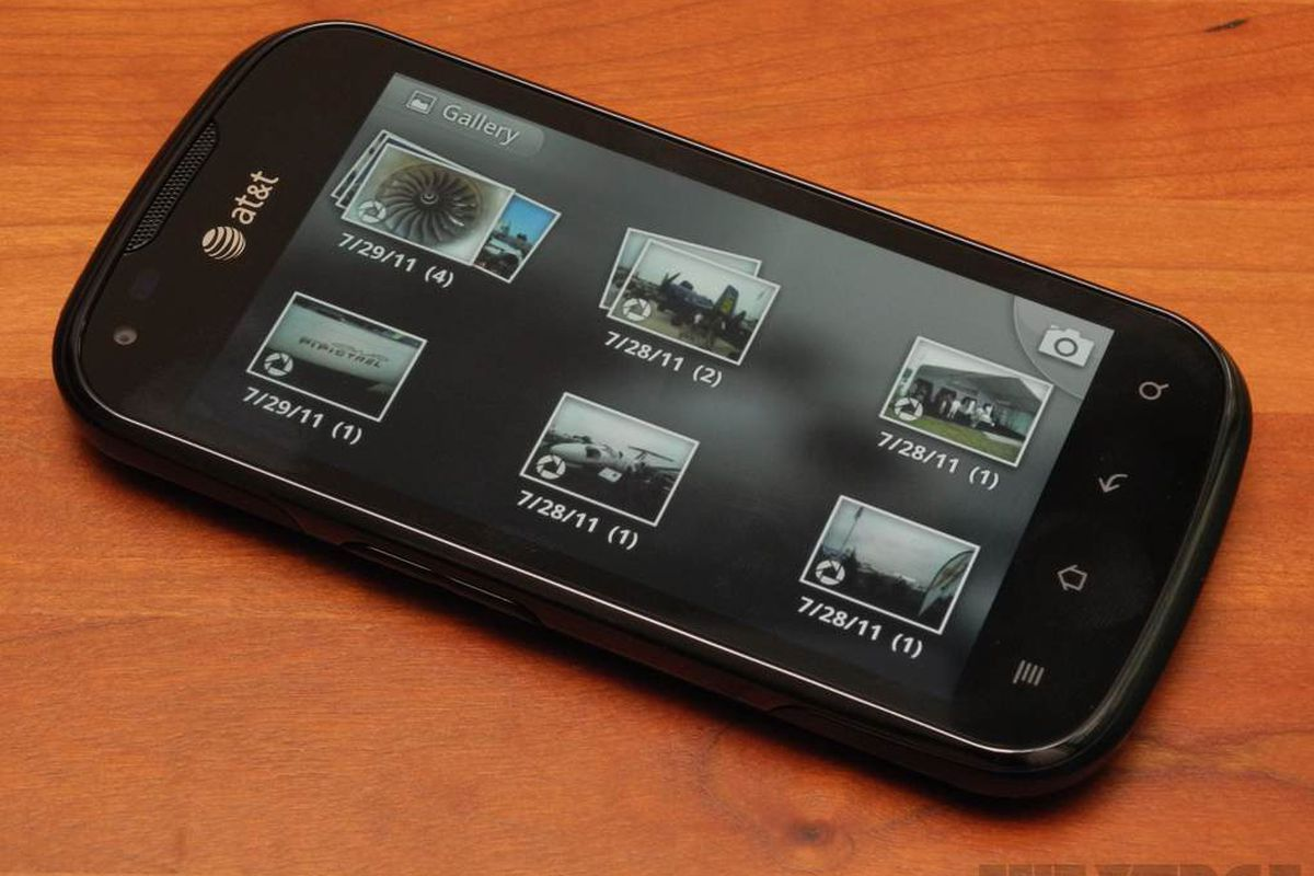 Android Gallery (Gingerbread)