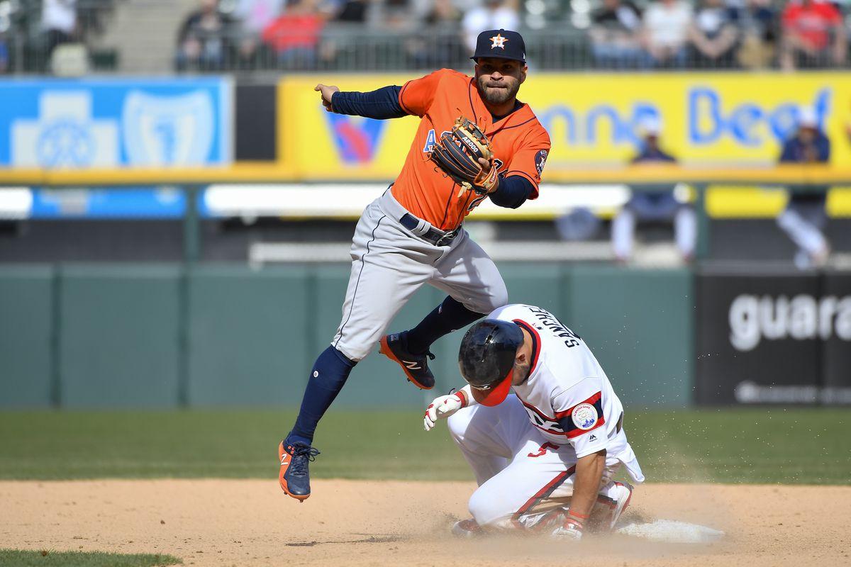 MLB: APR 22 Astros at White Sox