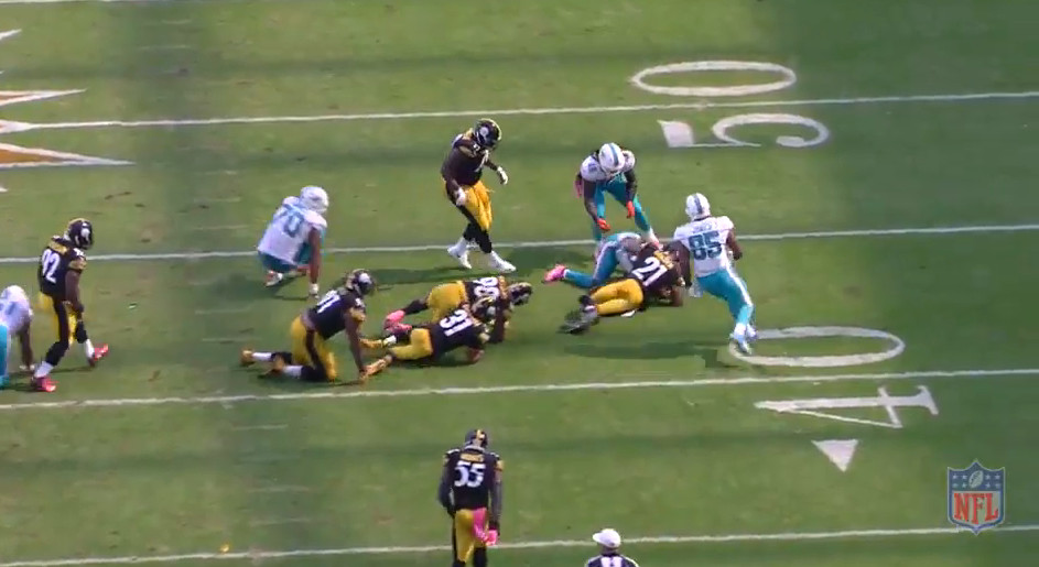 Ajayi leaves bodies on top of bodies