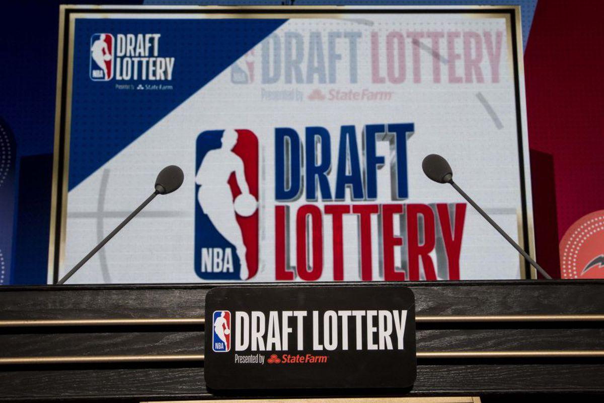 winning the 2020 NBA Draft Lottery ...