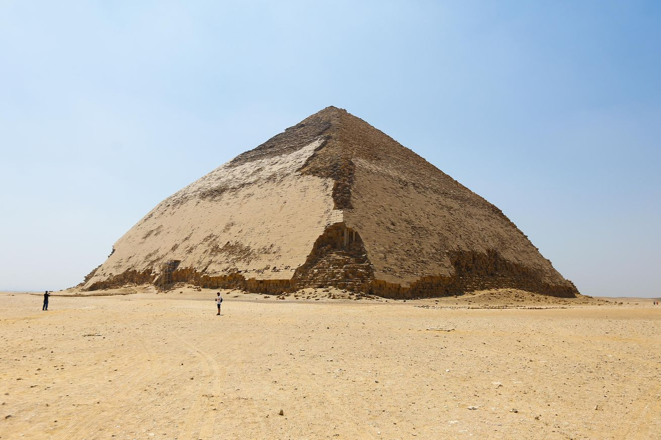Inauguration of newly restored Bent Pyramid of Sneferu in Giza