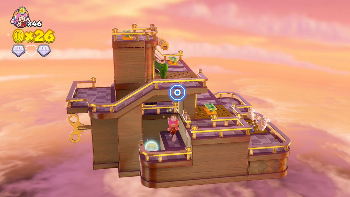 Captain Toad: Treasure Tracker 'Windup Stairs' (Episode 2-11) Super