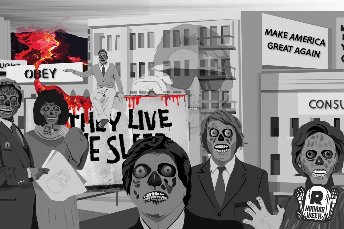 Halloween Town Movie Drawing.John Carpenter S They Live Was Supposed To Be A Warning The Ringer