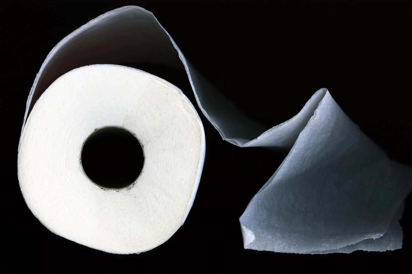 space toilet paper
