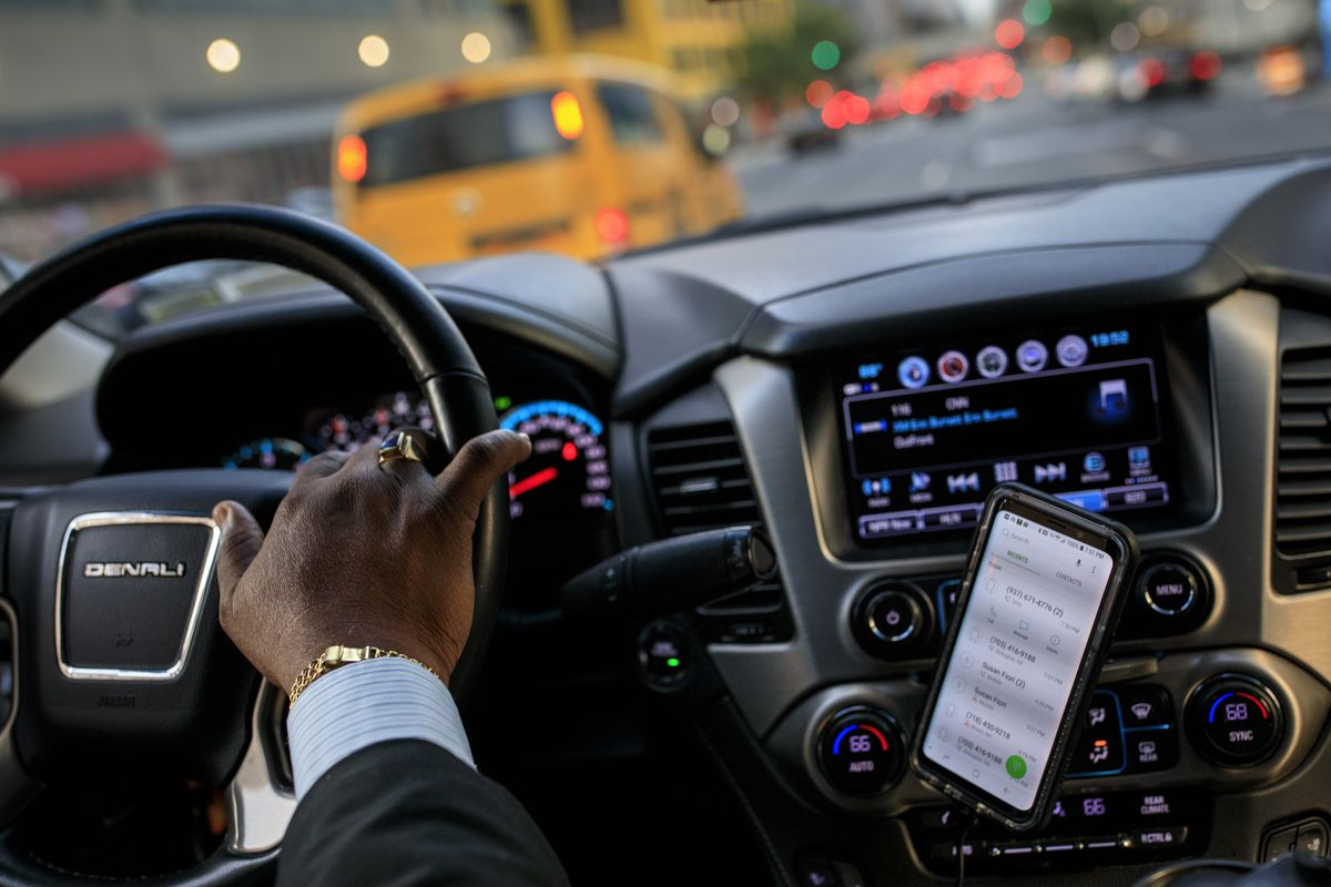 Uber Black customers can now push a button to tell drivers to be