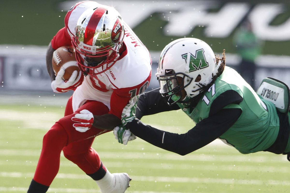 Marshall will battle Western Kentucky for the East Division... and for conference supremacy overall.