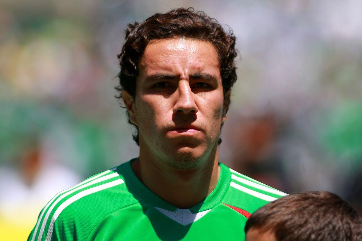 Efrain Juarez - Mexico v USA - FIFA World Cup 2010 Qualifier