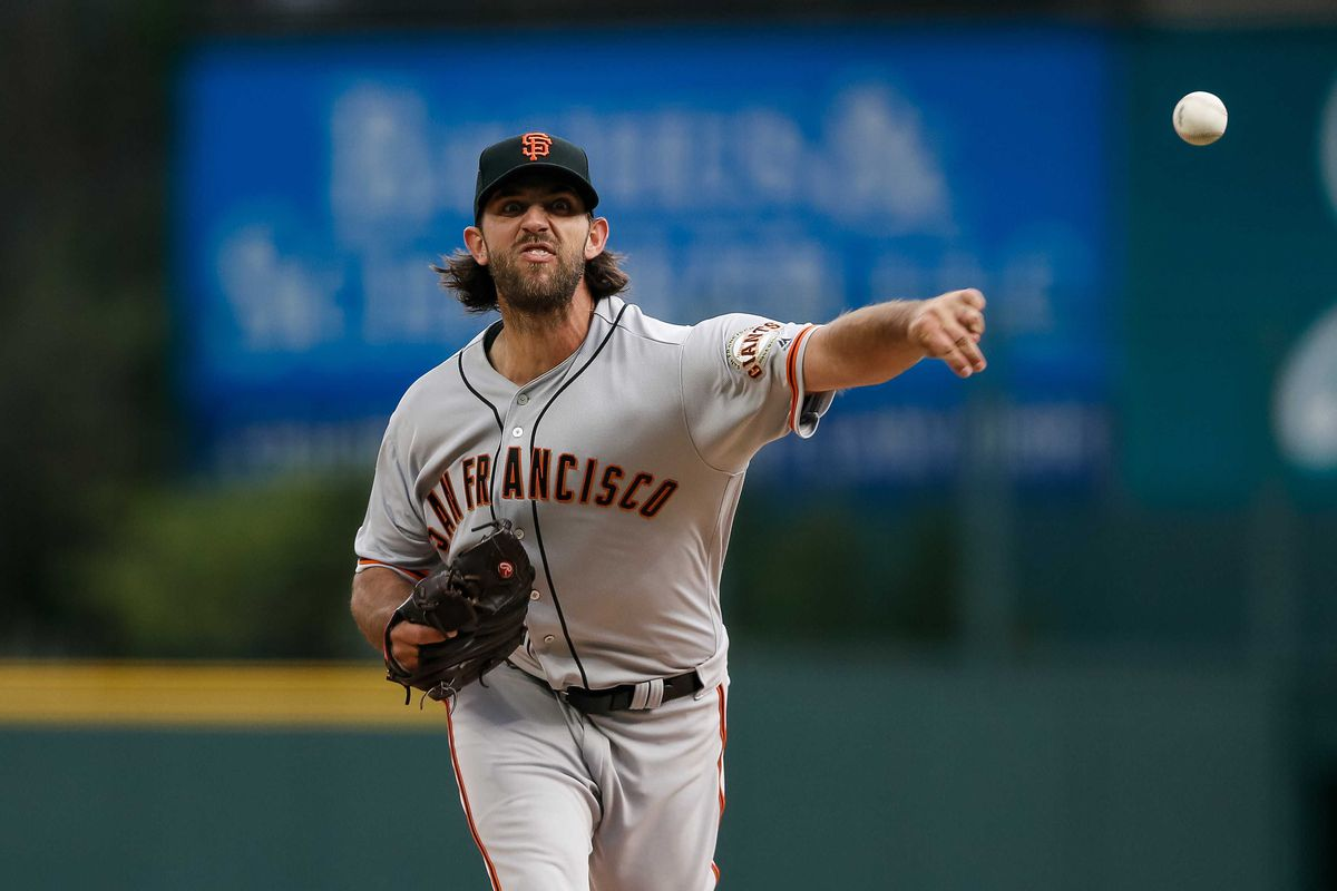 Madison Bumgarner could be back to normal