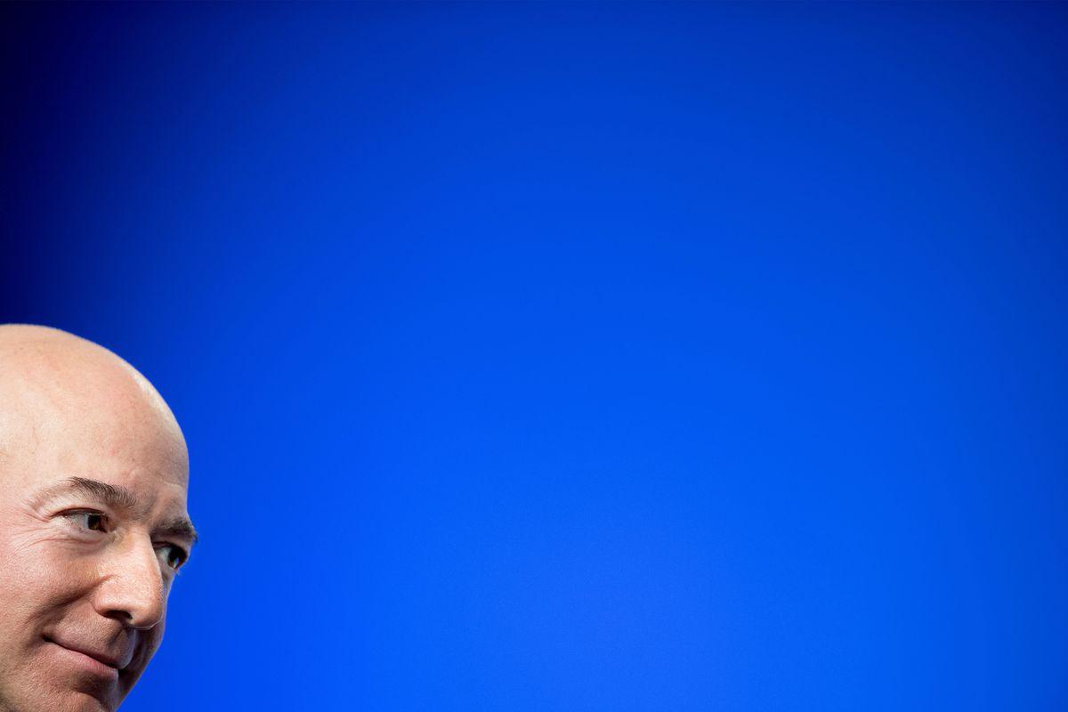Blue Origin founder Jeff Bezos.