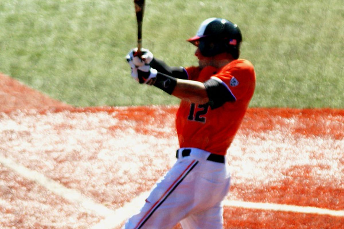 Nick Rulli added some punch to the bottom of the Oregon St. batting order yesterday, with 2 hits, including a triple,and a run scored. The Beavers could use some more such punch today as they try to take the series from the Sun Devils.