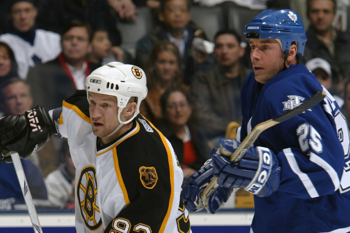 Bruins v Maple Leafs
