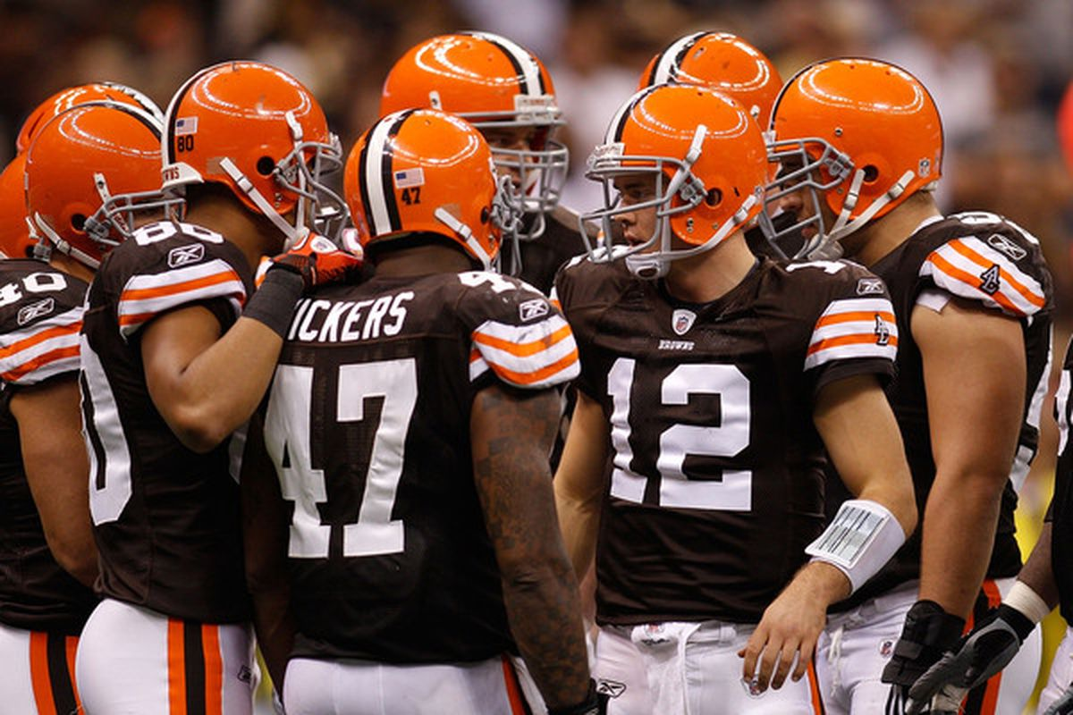 The Cleveland Browns played a complete football game against the New Orleans Saints.